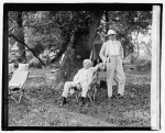 Edison, Ford, Firestone and President Harding go camping